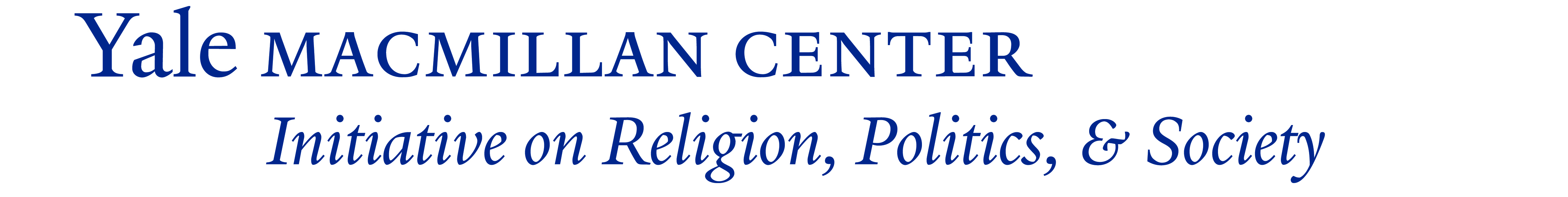 The MacMillan Center Initiative on Religion, Politics, & Society